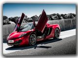 McLaren MP4 12C Spider Supercar Canvas. Sizes: A4/A3/A2/A1 (002278)